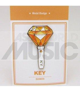 SHINee - Pin's métal KEY Light Stick (Import Corée)