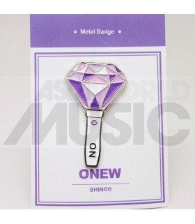 SHINee - Pin's métal ONEW Light Stick (Import Corée)