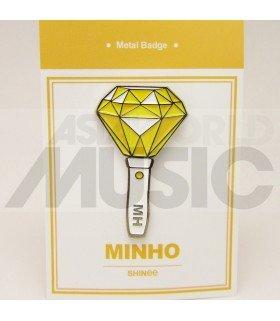 SHINee - Pin's métal MINHO Light Stick (Import Corée)