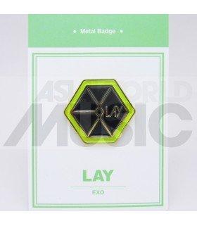 LAY (EXO) - Pin's métal (Import Corée)
