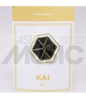KAI (EXO) - Pin's métal (Import Corée)