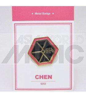 CHEN (EXO) - Pin's métal (Import Corée)