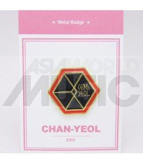 CHANYEOL (EXO) - Pin's métal (Import Corée)