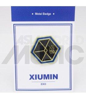 XIUMIN (EXO) - Pin's métal (Import Corée)