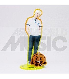 BTS - Standing Acrylic Doll BTS X BT21 - SUGA X SHOOKY