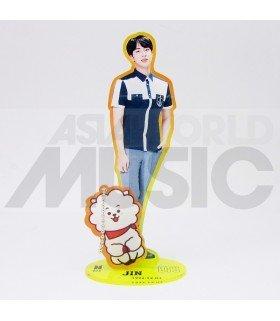 BTS - Standing Acrylic Doll BTS X BT21 - JIN X RJ