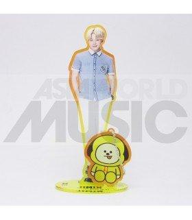 BTS - Standing Acrylic Doll BTS X BT21 - JIMIN X CHIMMY