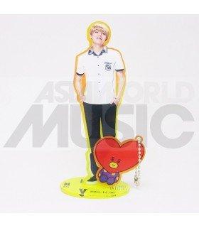 BTS - Standing Acrylic Doll BTS X BT21 - V X TATA