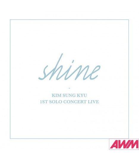 Kim Sung Kyu (김성규) 1st Solo Concert Live - Shine (2CD) (édition coréenne)