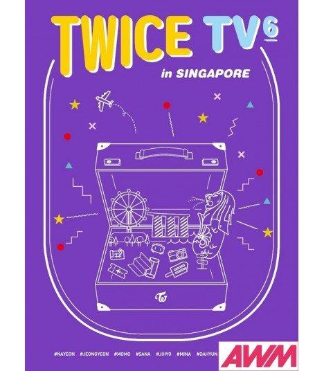 TWICE (트와이스) TWICE TV6 - TWICE in SINGAPORE (3DVD) (édition coréenne)