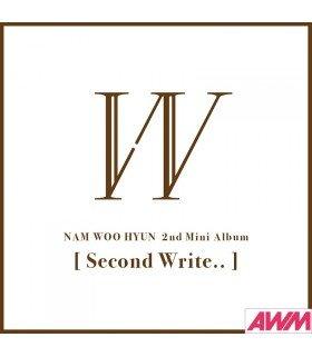Nam Woohyun (남우현) Mini Album Vol. 2 - Second Write.. (édition coréenne)
