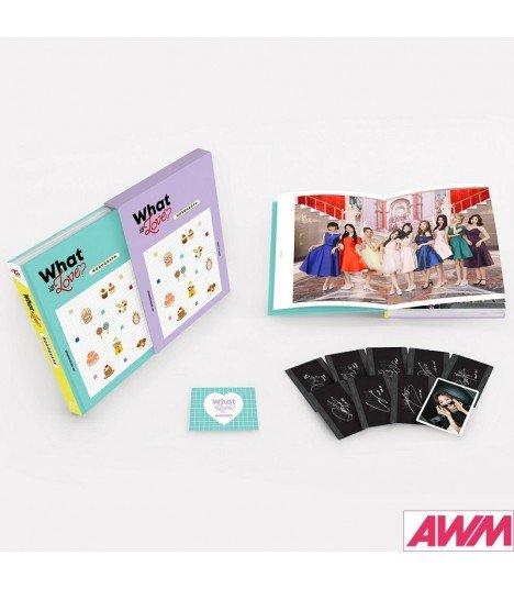 TWICE (트와이스) TWICE MONOGRAPH WHAT IS LOVE? (PHOTOBOOK) (édition limitée coréenne)