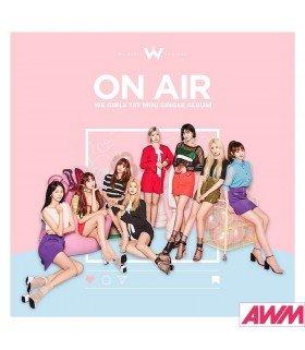 WeGirls (위걸스) Single Album Vol. 1 - ON AIR (édition coréenne)