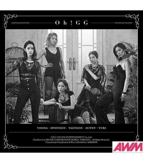 SNSD-Oh!GG (소녀시대-Oh!GG) Single Album - Lil' Touch (Kihno Album) (édition coréenne)