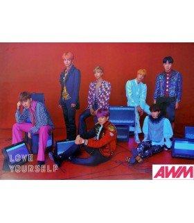 Affiche officielle BTS - LOVE YOURSELF -ANSWER- (Version S)
