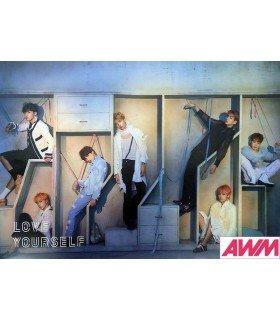 Affiche officielle BTS - LOVE YOURSELF -ANSWER- (Version E)