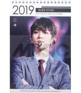 BAEKHYUN (EXO) - Calendrier de bureau 2019 / 2020 (Type A)