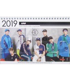 EXO - Calendrier de bureau 2019 / 2020 (Type A)