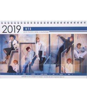 BTS - Calendrier de bureau 2019 / 2020 (Type A)