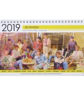 SEVENTEEN - Calendrier de bureau 2019 / 2020 (Type A)
