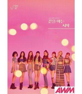 UNI.T (유니티) Mini Album Vol. 2 - Begin with the end (édition coréenne)