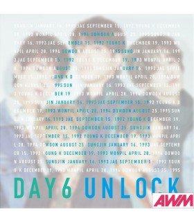 DAY6 - UNLOCK (ALBUM+DVD) (édition limitée japonaise)