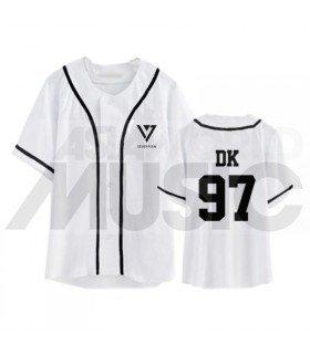 SEVENTEEN - Maillot de baseball - DK 97 (WHITE)