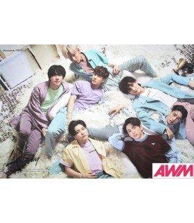 Affiche officielle GOT7- Present: You (Version GROUPE A)