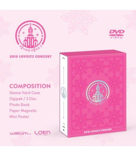 Lovelyz (러블리즈) 2018 LOVELYZ CONCERT (3DVD) (édition coréenne)