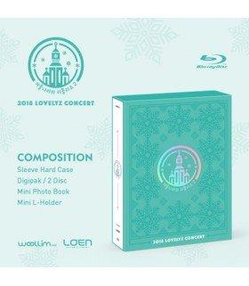 Lovelyz (러블리즈) 2018 LOVELYZ CONCERT (2BLU-RAY) (édition coréenne)