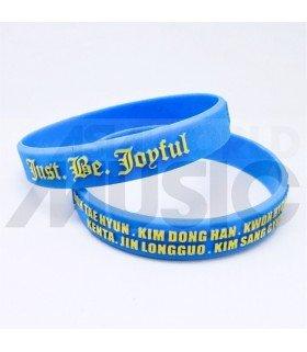 JBJ - Bracelet Fashion 3D - JBJ & MEMBERS (BLUE / YELLOW)