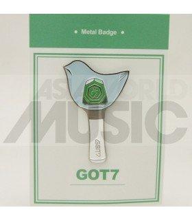 GOT7 LIGHTSTICK - Pin's métal (Import Corée)