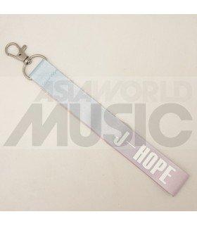 BTS - Dragonne poignet - J-HOPE (PASTEL PINK / BLUE)