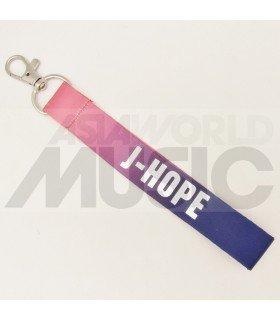BTS - Dragonne poignet - J-HOPE (PURPLE/PINK)
