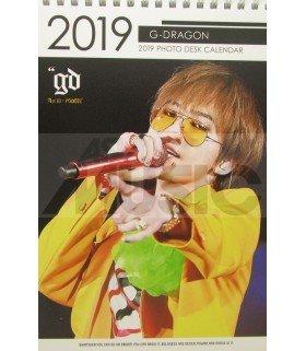 G-Dragon (BIGBANG) - Calendrier de bureau 2019 / 2020 (Type A)