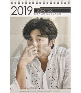 GONG YOO - Calendrier de bureau 2019 / 2020 (Type A)
