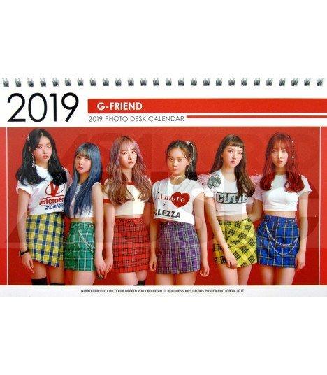 GFRIEND  - Calendrier de bureau 2019 / 2020 (Type A)