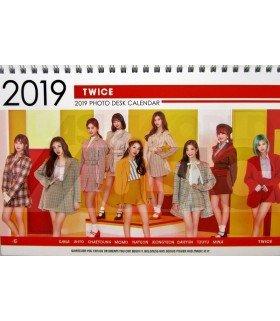 TWICE - Calendrier de bureau 2019 / 2020 (Type A)