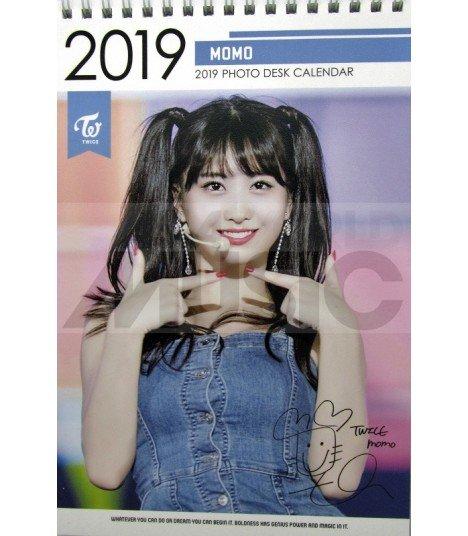 MOMO (TWICE) - Calendrier de bureau 2019 / 2020 (Type A)
