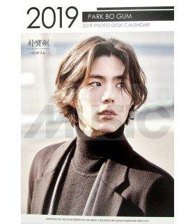 PARK BO GUM - Calendrier de bureau 2019 / 2020 (Type A)