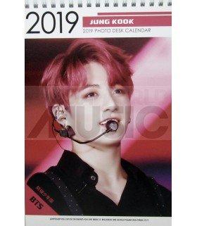 JUNGKOOK (BTS) - Calendrier de bureau 2019 / 2020 (Type A)