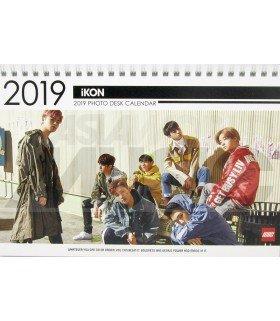 IKON - Calendrier de bureau 2019 / 2020 (Type A)