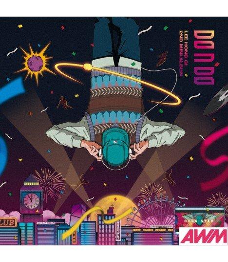 Lee Hong Ki (이홍기) Mini Album Vol. 2 - DO n DO (édition coréenne)