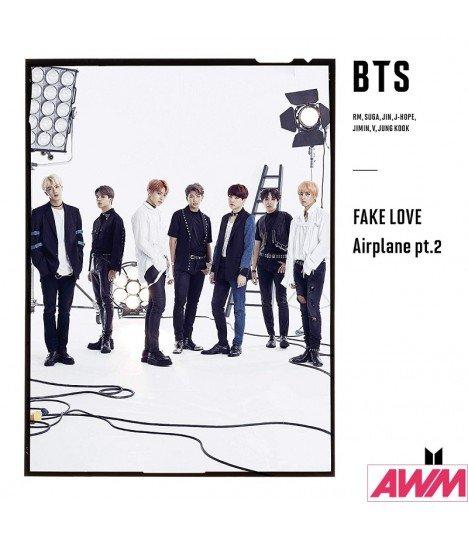 BTS (防弾少年団) Bird / FAKE LOVE / Airplane pt.2 (Type B / SINGLE+DVD) (édition limitée japonaise)