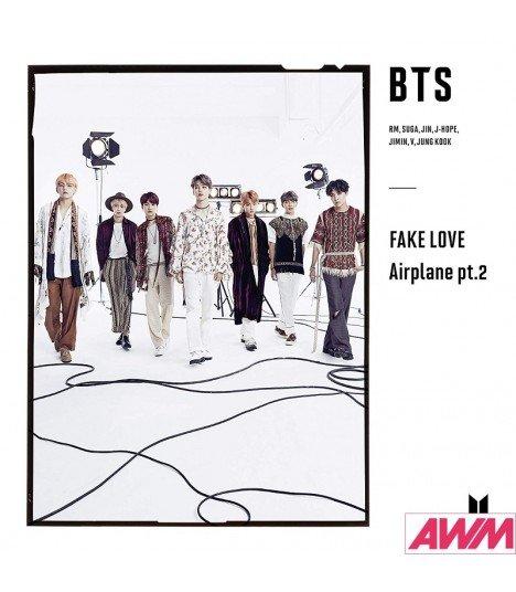 BTS (防弾少年団) Bird / FAKE LOVE / Airplane pt.2 (Type C / SINGLE+PHOTOBOOK) (édition limitée japonaise)