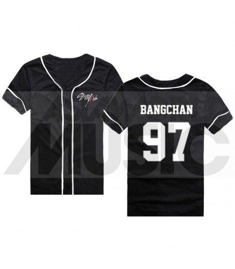 Stray Kids - Maillot de baseball - BANGCHAN 97 (BLACK)