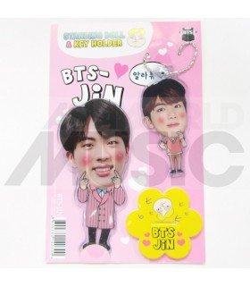 Jin (BTS) - Standing Doll & Porte-clé (Type D)