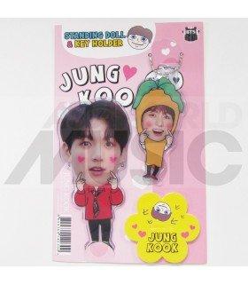 Jungkook (BTS) - Standing Doll & Porte-clé (Type E)
