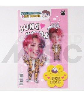 Jungkook (BTS) - Standing Doll & Porte-clé (Type F)