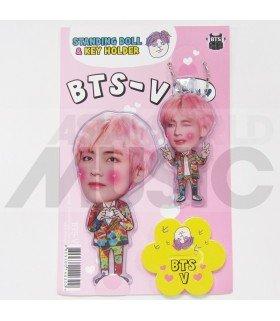 V (BTS) - Standing Doll & Porte-clé (Type E)